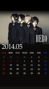 待受カレンダー 2014年5月