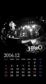 待受カレンダー 2016年12月(ver,2)